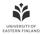 Itä-Suomen yliopisto kielentarkistus